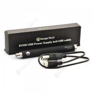 Batterie EVOD USB passthrough 650 mAh KANGER