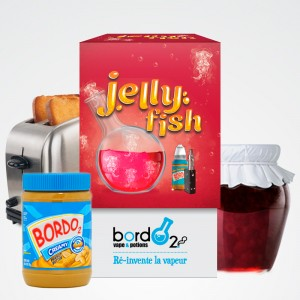 E-LIQUIDE JELLY FISH - 2X10ML (BORDO2)