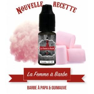 E-LIQUIDE LA FEMME A BARBE 10ML (BLACK CIRKUS - VDLV)