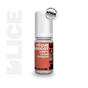 E-Liquide PECHE ABRICOT (D'lice)