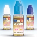 E-LIQUIDE VAPE CAKE - 10ML (FRENCH CLOUDS)