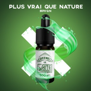 E-LIQUIDE CBD WHITE WINDOW (GREENEO)