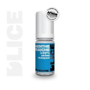E-Liquide MENTHE FRAICHE (D'lice)
