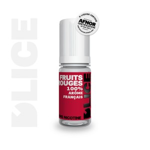 E-Liquide FRUITS ROUGES (D'lice)